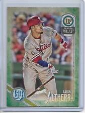 2018 Topps Gypsy Queen Aaron Altherr Green Retail Parallel Card