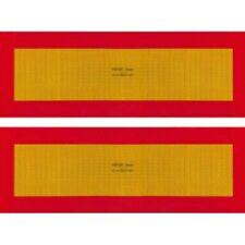 ECE 70.01 Pannelli rifrangenti per rimorchio kit da 2 pezzi in PVC o Alluminio