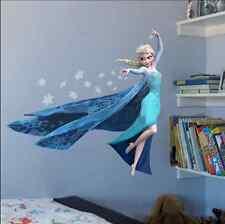 Frozen Elsa Cartoon Movie Girl Animal Nursery Wall Decal Sticker UK
