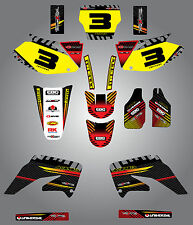 Honda CRF 450  - 2002 - 2004 Full  Custom Graphic  Kit -FACTORY STYLE stickers
