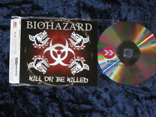 Biohazard – Kill or be tué promo-CD décongélations 085-74782-p slim Jewel Case