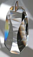 50mm Ladder Geometric Crystal Clear Prism SunCatcher 2 inches