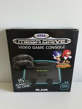 SEGA MEGA DRIVE AT Games CONSOLE - 15 in 1 - 2 Controls in Box Sonic & Knuckles