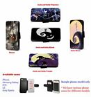 Nightmare Before Christmas leather card phone case for Huawei Samsung