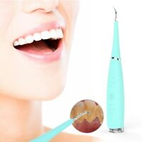 Electric Sonic Dental Calculus Remover Scaler Tooth Stains Tartar Cleaning Tool~