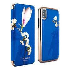 223e9fcca70926 Ted Baker® Luxury Protective Floral Mirror Folio Case Cover iPhone X XS  HARMONY