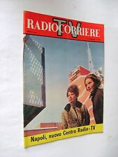 Radio Corriere TV n 11 marzo 1963 nuovo centro Radio Tv