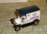 LLEDO - PROMO - 1920 MODEL T FORD VAN - CITY OF LONDON - LTD EDIT CASTLEHOUSE
