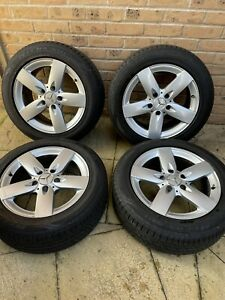 Mercedes benz slk r171 4x 16inch alloy wheels.