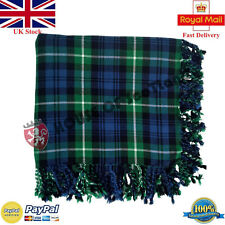 Hs Homme Écossais Kilt Mouche Plaid Lamont Acrylique Laine 122cmx 122cm Purled