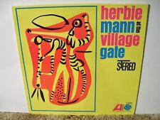 HERBIE MANN , AT THE VILLAGE GATE, RARE 1962 NEAR MINT, HARD BOP JAZZ