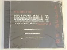 New Dragon Ball Z Best Of, Vol III 3 American Soundtrack Anime CD 40T Funimation