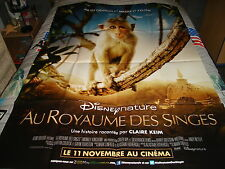 AFFICHE   DISNEY NATURE / AU ROYAUME DES SINGES