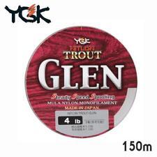 YGK-TROUT GLEN MONOFILAMENT FISHING LINE 14lb(No:3.5) / 150m  4988494864444