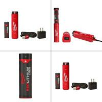 redlithium usb battery and charger | milwaukee kit new tools capsule fuel gauge