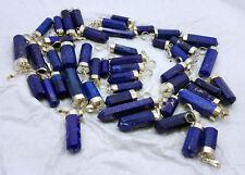 100 % Natural Royal Blue Grad AAA Lapis Lazuli crystals Pendants 5pcs lot sale