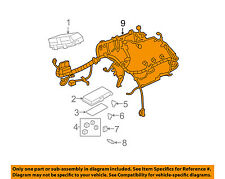 Chevrolet GM OEM 2008 Malibu 3.6L-V6 Fuse Relay-Engine Harness 25887682