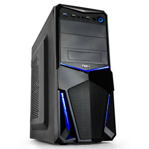 ORDENADOR NUEVO PC INTEL QUAD CORE 9,2GHz, 4GB RAM, 500GB, DVRW, HDMI, USB3,DX12