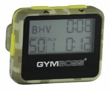 Durable & Compact Interval Timer and Stopwatch w/ Secure Removable Belt Clip