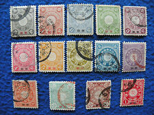 Japan Office in Korea 1900 Sc#1-14 Complete Set Used
