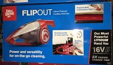 Dirt Devil Flipout Lithium-Powered Cordless Hand Vacuum, BD10315B