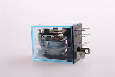HH62P DPDT Electromagnetic Relay JQX-13F2Z DC 24V Coil 8-Pin LY2N-J
