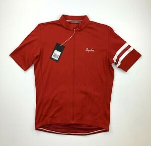 RAPHA Classic Country Jersey Size Large Red New