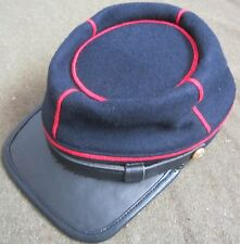 CIVIL WAR US UNION ARTILLERY WOOL KEPI FORAGE CAP HAT-XLARGE