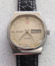 Rado Voyager 17 jewels vintage automatic men's watch ETA 2836-2 diamond dial