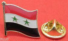 Syria Country Flag Lapel Hat Cap Tie Pin Badge Brooch Syrian Arab Republic