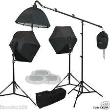 Photo Equipment Studio Video Light Lamp Studio Boom Light Stand Photography Kits