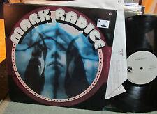 Mark Radice Self Titled '72 LP s/t gatefold orig w/inner die cut cvr donovan!