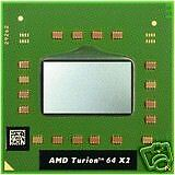 AMD TURION 64 TL-64 X2 S1 2.2GHZ 1MB 90NM TMDTL64HAX5CT