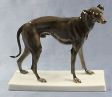 greyhound hundefigur Rosenthal figur figura figure windhund selten dog