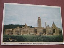 University of Montreal Universite de Montreal Quebec Canada - Vintage Postcard
