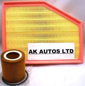 FOR BMW 5 SERIES 530i E60 E61 2005> 2PC SERVICE PARTS OIL & AIR FILTER