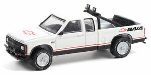 GREENLIGHT #35210 -  WHITE 1991 CHEVROLET S-10 BAJA EXTENDED CAB  [PREORDER]