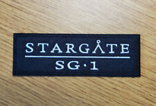 Stargate SG-1 Title Logo Patch 4 inches wide
