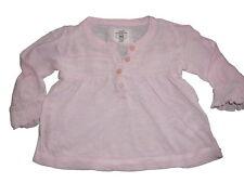 H & M tolles leichtes Langarm Shirt Gr. 68 rosa !!