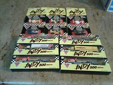 Matchbox Indy 500 Diecast Lot - 6 Indy Cars And 6 Transporters - 4 Amway 2 Other