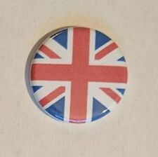 "1.25"" Pinback Button United Kingdom Flag (Pins Approx. 32mm)"