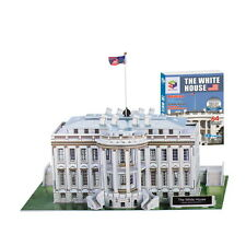 Educational 3D Puzzle The White House(64pcs) Jigsaw Mini Model Diy Creativity