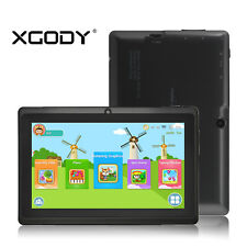 """XGODY 7"""" IPS Android 4.4 8GB WIFI HD Kids Tablet PC Quad-core Gift for Children"""