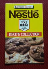 Nestle Toll House Chocolate Chip Cookies Favorite Recipes Collection Cookbook pb