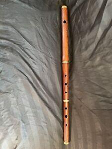 Old Unbranded Wooden Flute