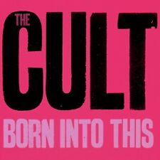 The Cult Born Into This Banner Huge 4X4 Ft Tapestry Fabric Poster Flag album art