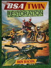 BSA TWINS RESTORATION MANUAL A7 A10 A50 A65 A70 all variations ss st r l + 47-72