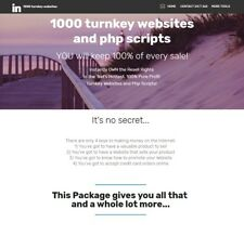 1000 turnkey website business reseller website for sale Make Money Online