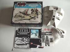 Vintage Star Wars Clipper/Meccano 1983 ROTJ Rebel Snowspeeder En parfait état, dans sa boîte/En parfait état, dans sa boîte scellée UNUSED!!!
