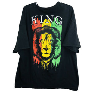 Bob Marley Jamaica Zionist Zion Lion Peace Love Hip Hop Rap Tee T- Shirt (5XL)